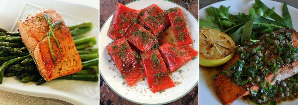Wild Alaska Salmon Food Plates - Wild Alaska Salmon And Seafood Company