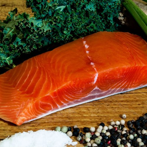 Wild Caught King Salmon Fillet - Wild Alaska Salmon And Seafood Company