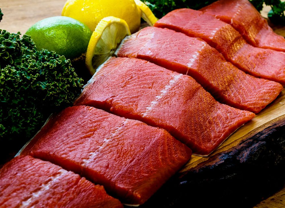 Freshly Caught Wild Sockeye Salmon - Buy Online - Wild Alaska Salmon And Seafood Company