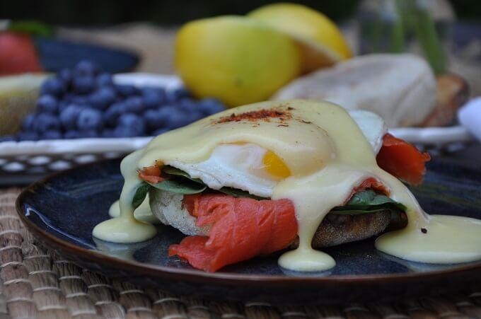 Egg And Salmon Benedict - Wild Alaska Salmon And Seafood Company