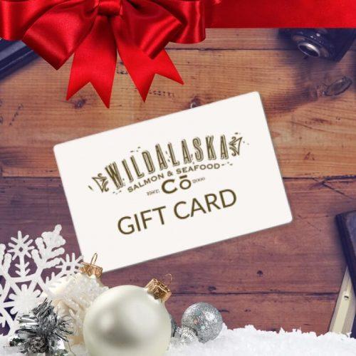 Wild Alaska Salmon And Seafood Company Holiday Gift Card