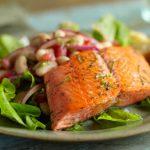 Alaska Salmon and White Bean Salad