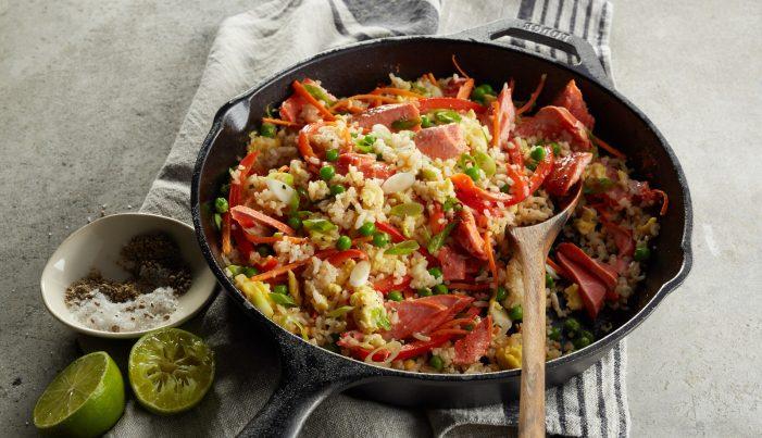 Alaska Salmon Fried Rice - Wild Alaska Salmon And Seafood Company