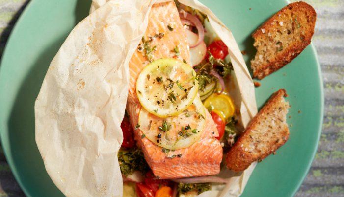 Alaska Salmon En Papillote - Wild Alaska Salmon And Seafood Company