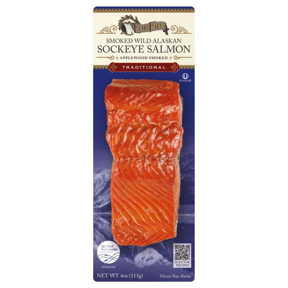 Echo Falls Traditional Flavored Smoked Salmon 4oz