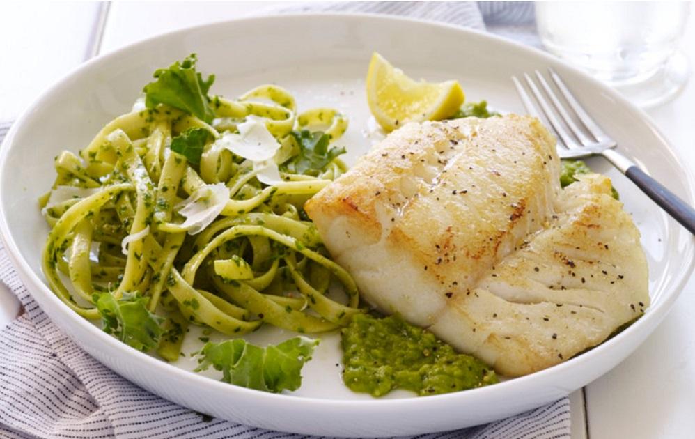 Pacific Cod with Pesto
