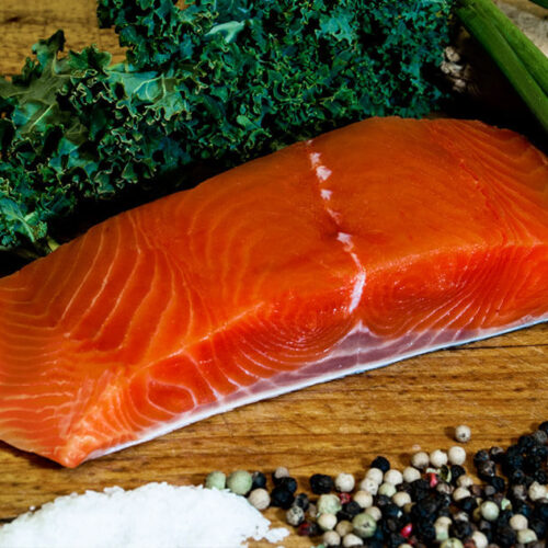 King Salmon Fillet