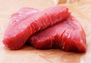 Raw Ahi Tuna Steaks