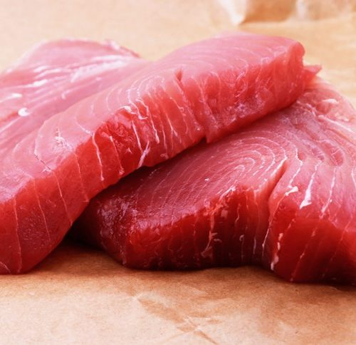 Raw Ahi Tuna Steaks