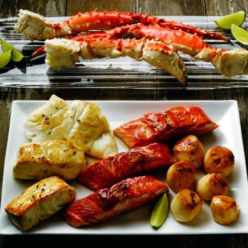 Alaskan Seafood Sampler