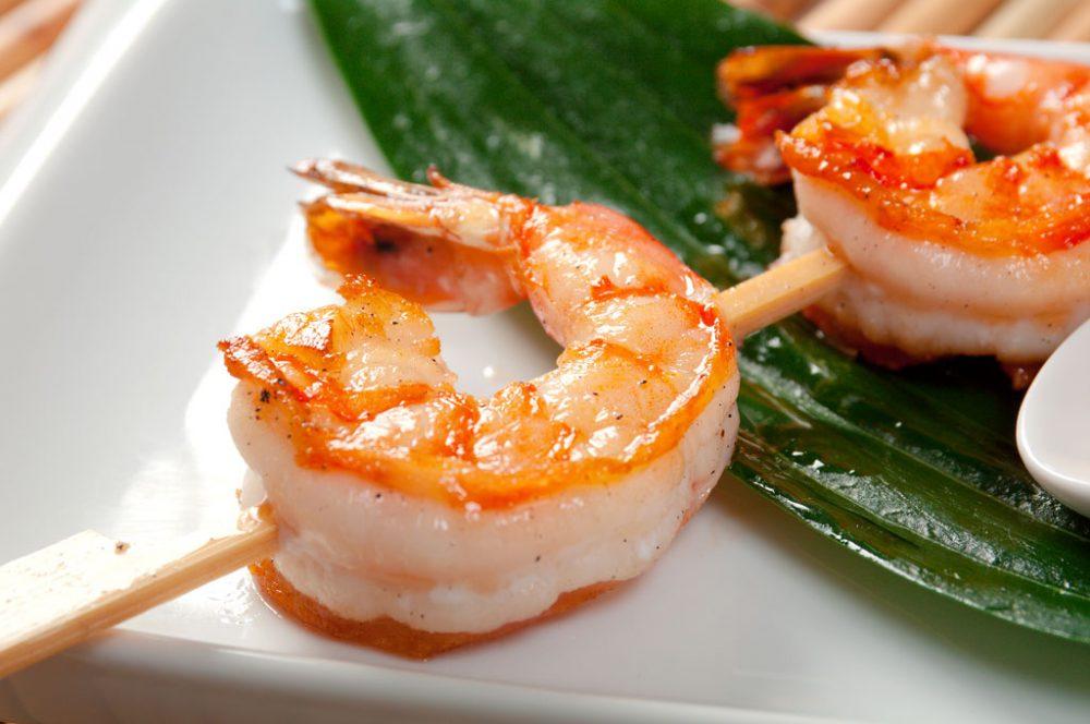 Japanese Skewered Jumbo Shrimp