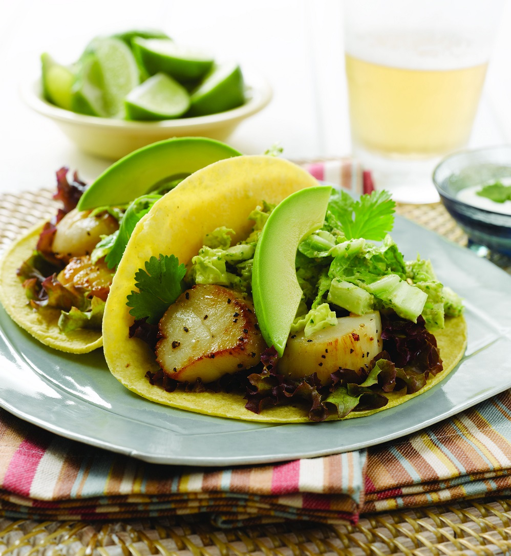 Alaska Scallop And Cashew Slaw Tacos - Wild Alaska Salmon And Seafood Company