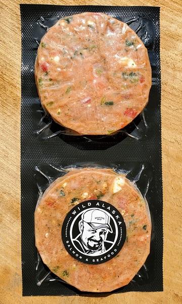 Salmon Burger Packaging - Wild Alaska Salmon And Seafood Company