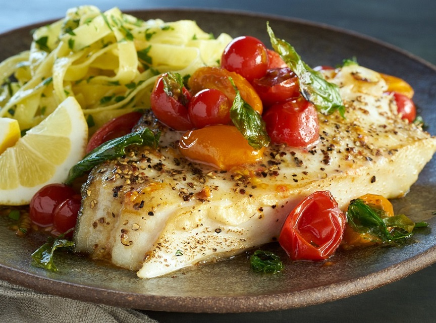 Pan Seared Alaskan Halibut - Wild Alaska Salmon And Seafood Company