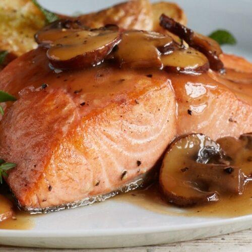 King Salmon Marsala - Wild Alaska Salmon And Seafood Company