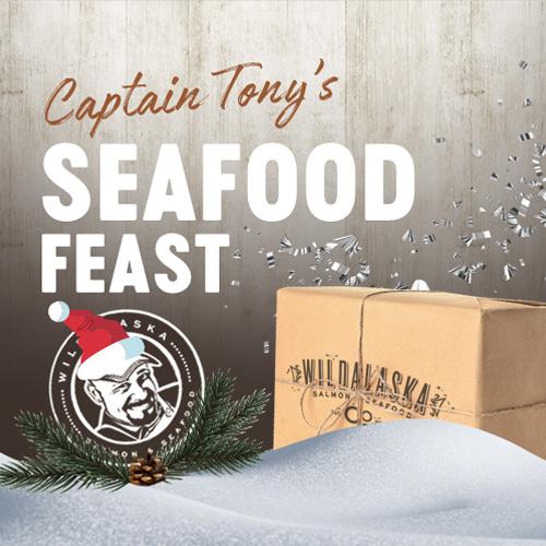 Captain Tony's Holiday Gift Box Seafood Feast