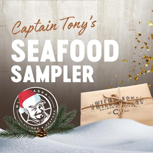Captain Tony's Holiday Gift Box Seafood Sampler