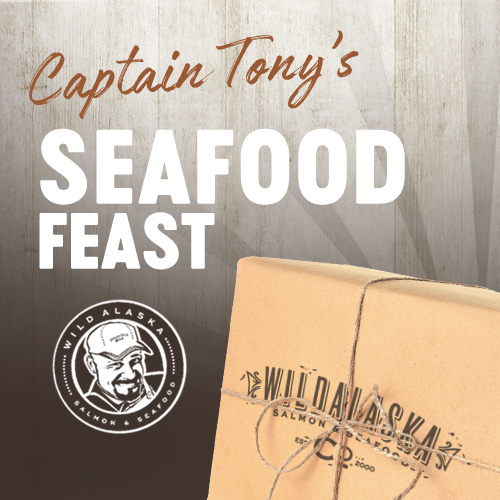 Captain Tony's Gift Box Seafood Feast