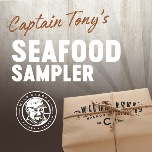 Captain Tony's Gift Box Seafood Sampler