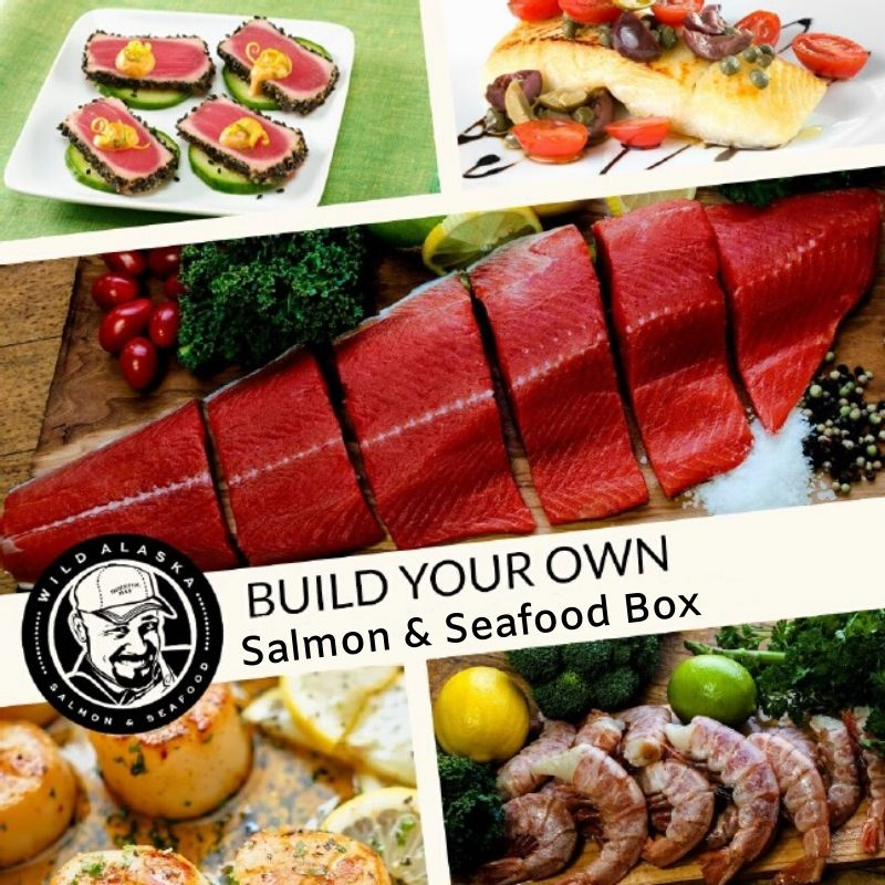 Captain Tony Salmon and Seafood Gift Boxes