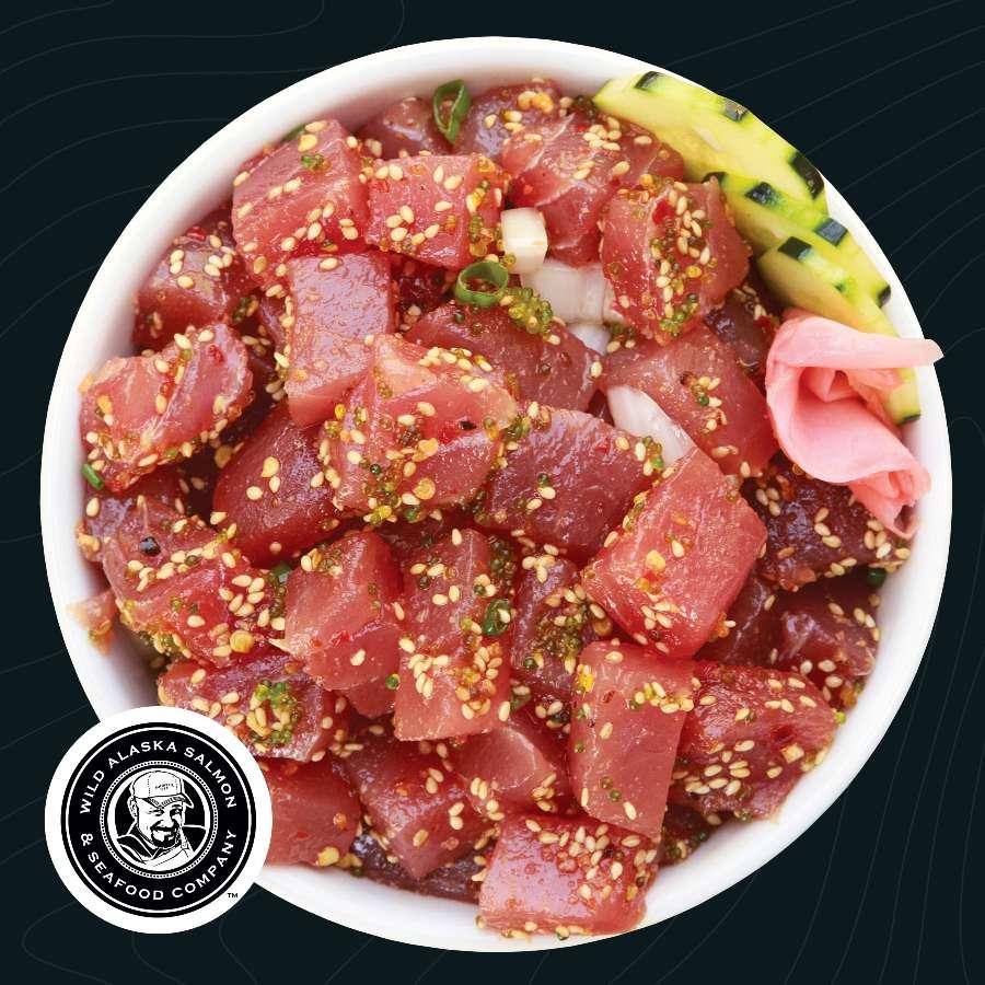 Ahi Tuna Poke Kit Wasabi Flavor