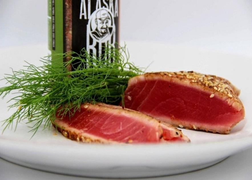 Ahi Tuna and Wild Alaska Rub