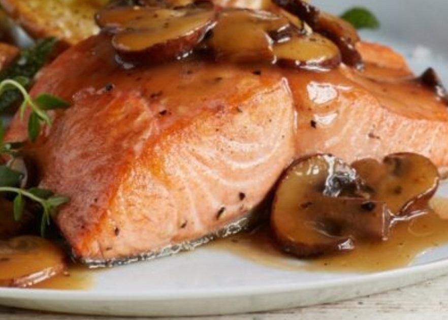 King Salmon with Mush