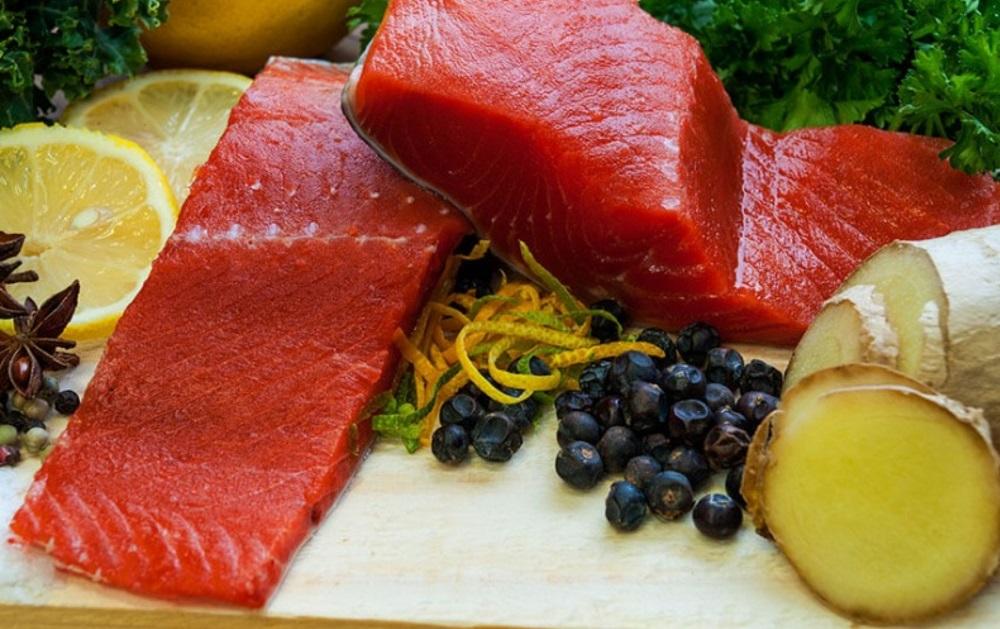 Sockeye Salmon Raw