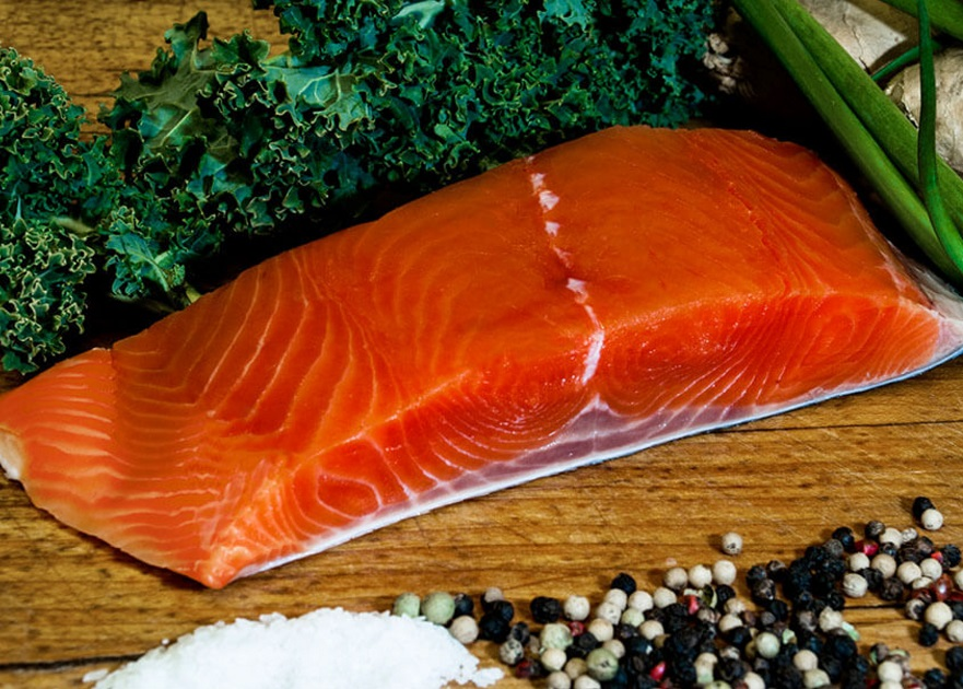 King Salmon Raw