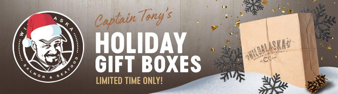 Captain Tony's Holiday Gift Box Header
